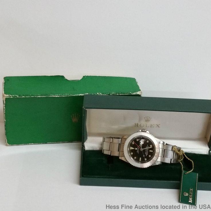 Rolex 1675 GMT Master Gilt Glass Dial Amazing Box Tags Air Force Bracelet  #Rolex #Sport