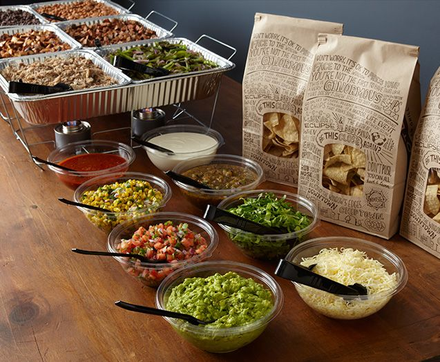 Chipotle — Catering Set-up