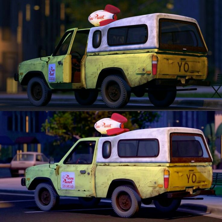 C D F C C C Fc Pizza Planet Toy Story on Dodge Dakota Motorcycles