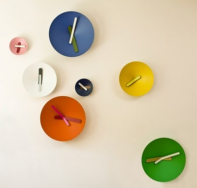 Clocks by Diamantini & Domeniconi.  #colorevolution