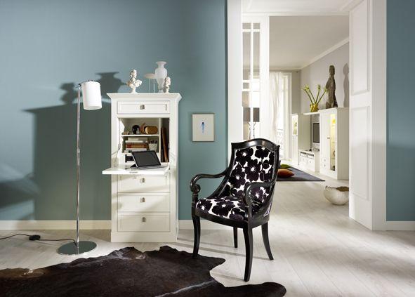 Secretaire SOPHIA designed by Tiziano Bistaffa #SELVA #furniture #Secretaire #armchair