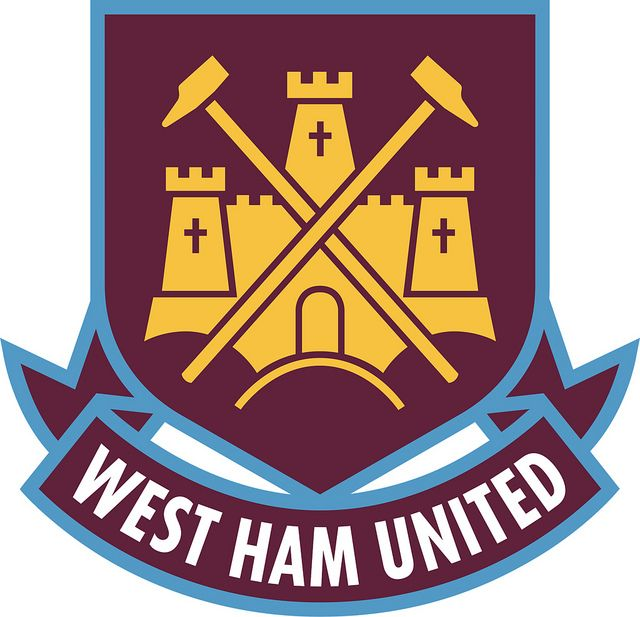 West Ham United Football Club | Country: England, United Kingdom. País: Inglaterra, Reino Unido. | Founded/Fundado: 1895 | Badge/Escudo