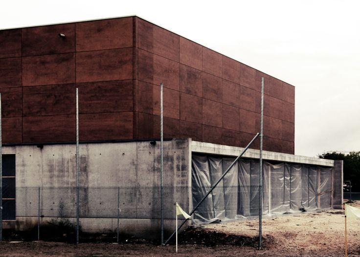Filippo Bricolo, Multipurpose building, under construction