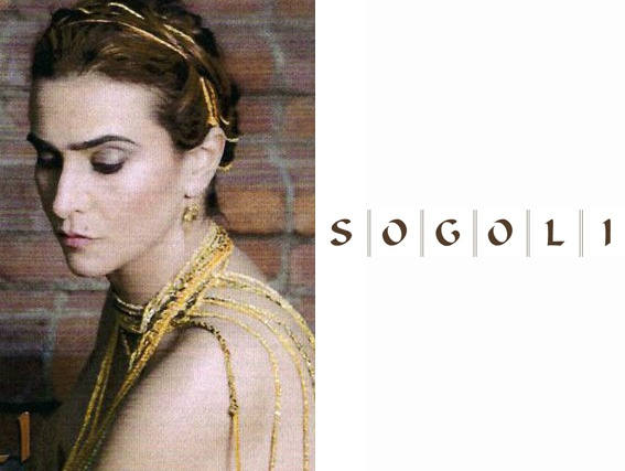 Handmade in California, jewelry line Sogoli features delicate wrap bracelets weaved with chains, vintage fabrics, crystals, stones and more. Each one is totally unique and these pretty bracelets are perfect for layering!