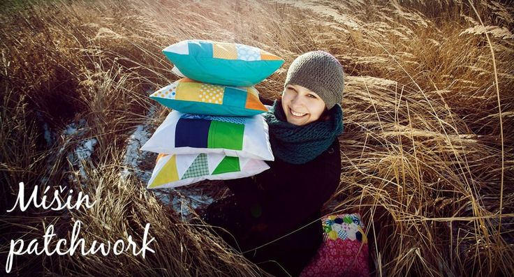 Jak se šije patchwork – tutorial – English paper piecing | Mišin patchwork