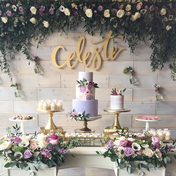"412 Me gusta, 50 comentarios - Jane Lee (@stylechicevents) en Instagram: ""A dreamy floral garden party filled with the freshest spring blooms for adorable Celeste! It was so…"""