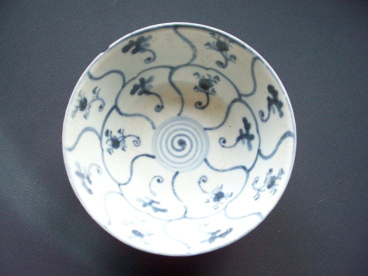 Antique Chinese Tek Sing Rice Bowl by AntiquesCabin on Etsy