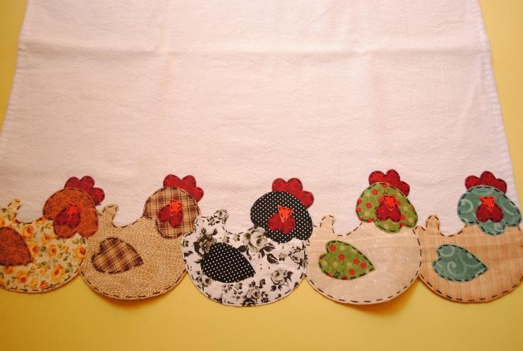Atelier Arte Agulha: Panos de prato