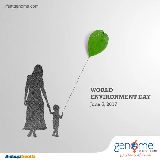 Protect our Earth today for our Children's tomorrow Genome celebrates World Environment Day   5th June