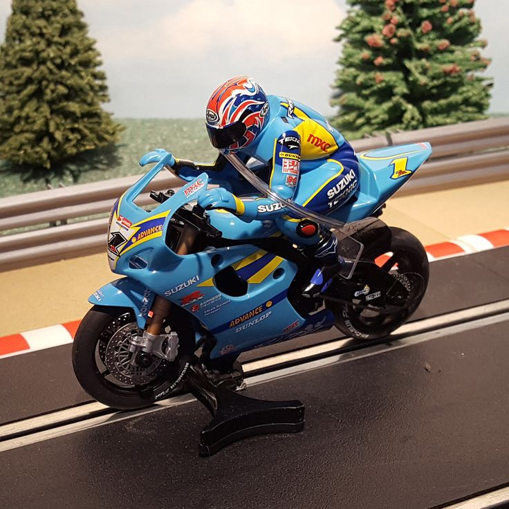 New arrival for sale! Scalextric 1:32 M... See it here http://www.actionslotracing.co.uk/products/scalextric-1-32-motorbike-c6014-suzuki-gsxr1000-john-reynolds-1?utm_campaign=social_autopilot&utm_source=pin&utm_medium=pin