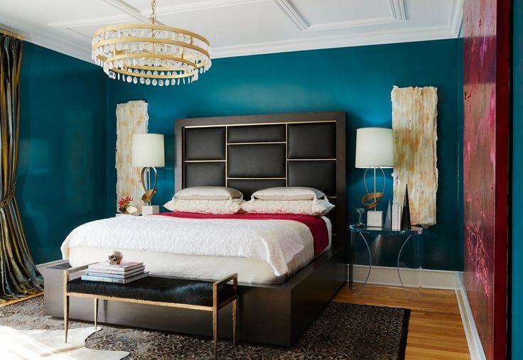 interior design interiors contemporary eclectic gothic baroque modern bedroom