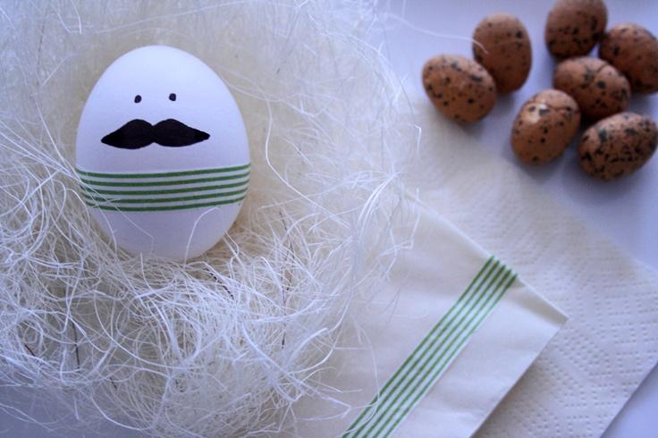 Easter egg: Mr. Moustache