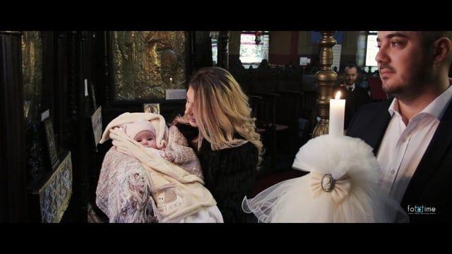 Filmare botez Bucuresti - Best Moments Botez Bucuresti - Botez Natalia Andreea - FotoTime