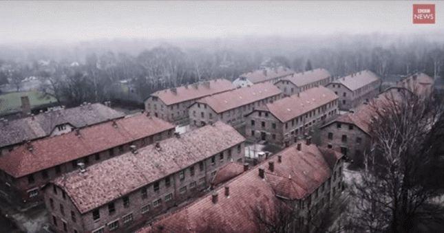 Shocking Video Over Auschwitz Captured By Drone