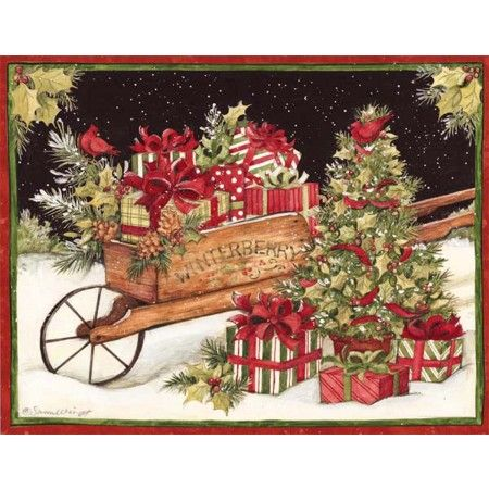 Christmas Delivery Boxed Christmas Cards: Piper Classics