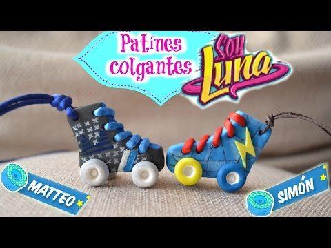DIY-SOY LUNA- PATINES COLGANTES- MATTEO/SIMON - YouTube