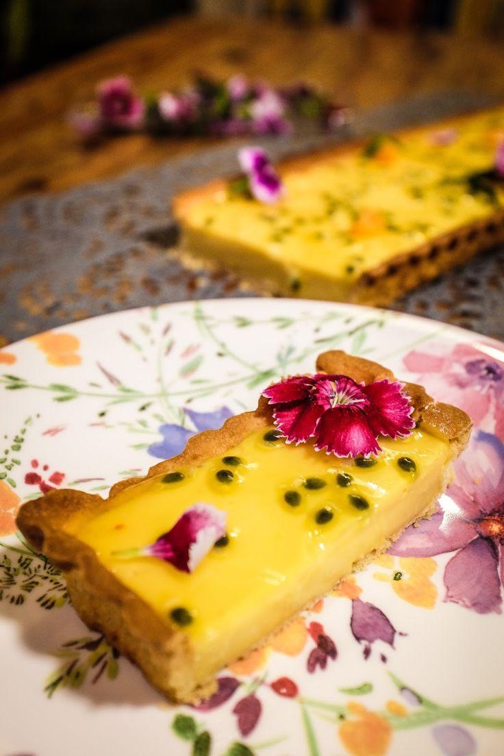 Mon petit chou: tarte aux fruits de la passion