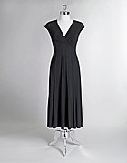 OK Lady, this is the perfect LBD for you!  I have one similar and I've worn it a lot!  Good fabric, great fit, very flattering style!  Tea length is the perfect length to be versatile.  I've really dressed mine up or worn it plain.  I vote for this one!!!: Flatter Style