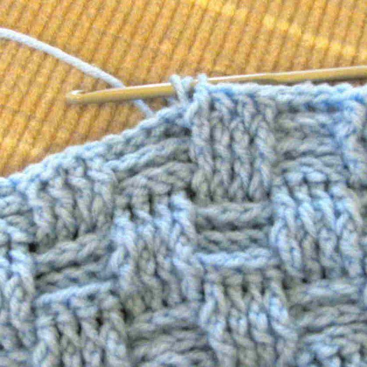Simple Basket Weave Knitting Pattern : Best ideas about basket weave crochet on