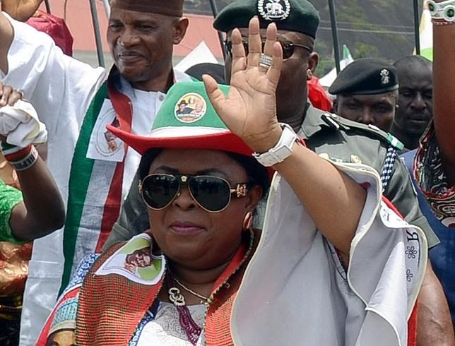 Former First lady Patience Jonathan has asked President Buhari to tell the acting chairman of the Economic and Financial Crimes Commission (EFCC) to leave her alone. In a statement released by her chief press secretary Belema Meshack-Hart Mrs Jonathan said Magu was being used to destroy the image of her family because of her role in the 2015 elections in which she campaigned against President Buhari.  According to Mrs Jonathan US president Donald Trump is not using the law enforcement agents…
