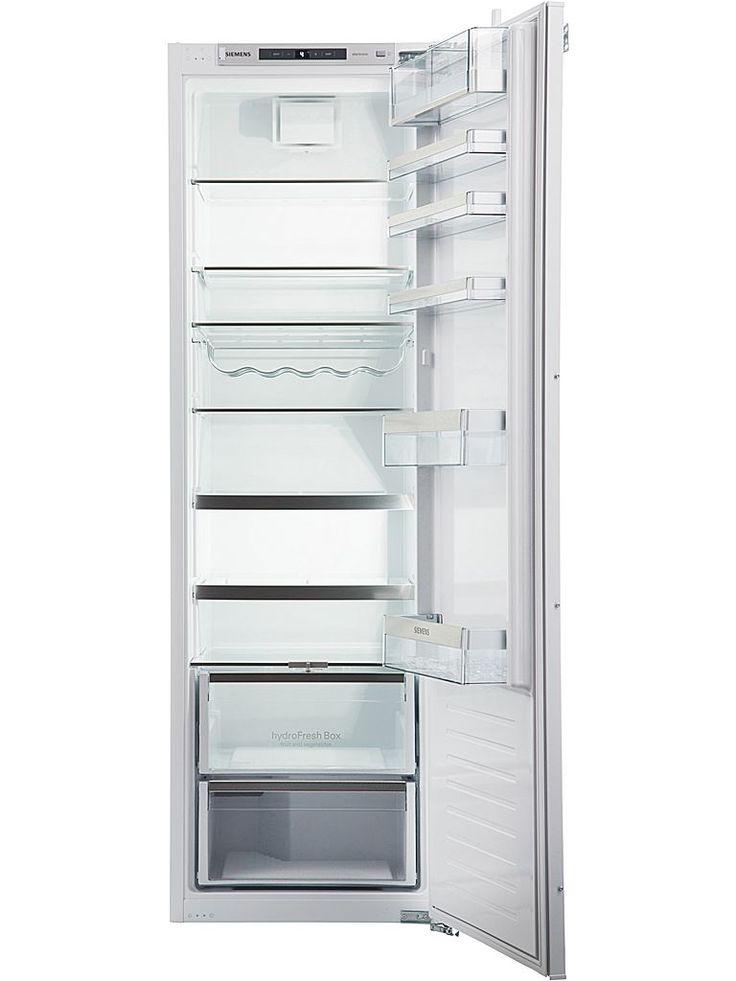 Siemens KI81RAF30 kylskåp för inbyggnad med hydroFresh-låda som håller frukt och grönt fräscha upp till två gånger längre samt flexibel varioShelf-hylla.