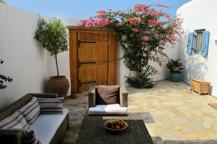 A courtyard with style..