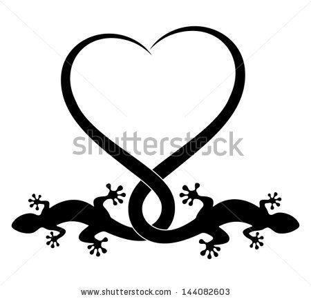 animal tattoo design - stock vector