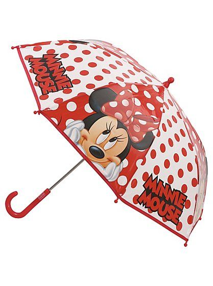 Disney Minnie Mouse Umbrella , read reviews and buy online at George at ASDA. Shop from our latest range in Kids. Even if the (not so great) British weather ...