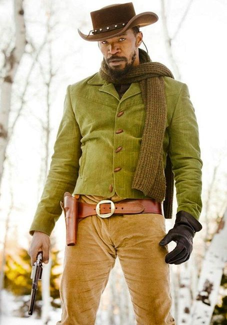 Jamie Foxx - in Quentin Tarantino's latest flick, Django Unchained, starring Jamie Foxx as a freed slave turned bounty hunter
