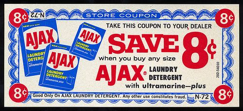 Vintage Coupon Design