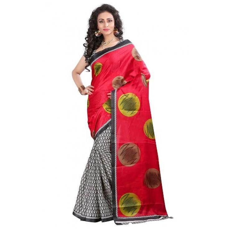 Sai creation Fashionable bhagalpuri silk sarees