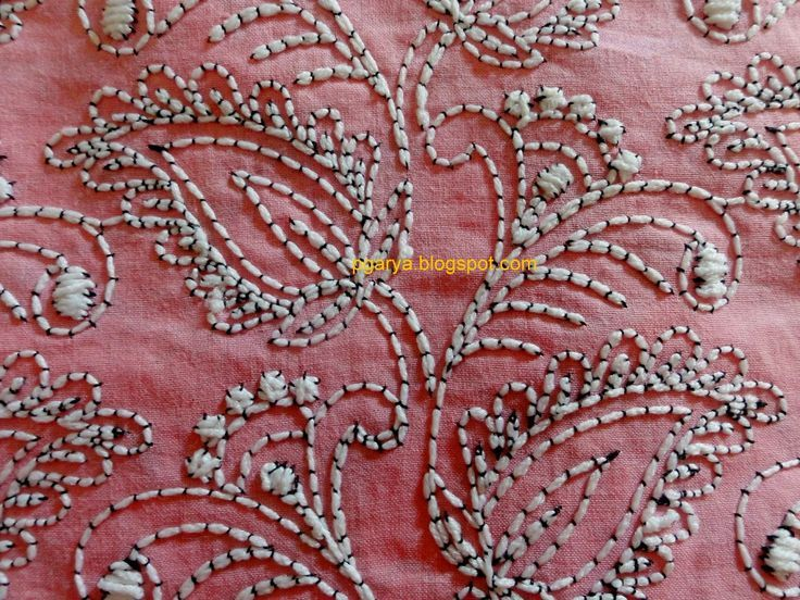 93 Best Bordados Couching Images On Pinterest Stitches Embroidery