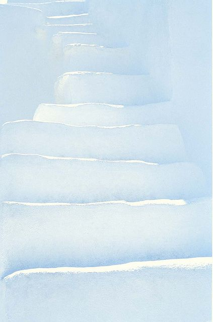 whitewashed steps #Sifnos