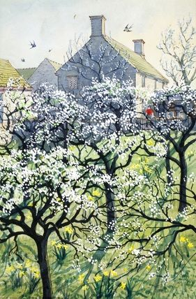 Orchard by C. F. Tunnicliffe
