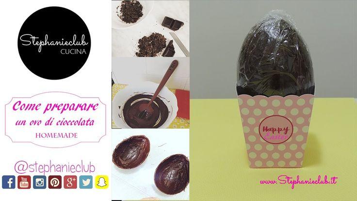 Come preparare un uovo di cioccolata homemade   stephanieclub