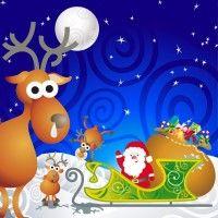 Cartoon Santa Vector Illustration