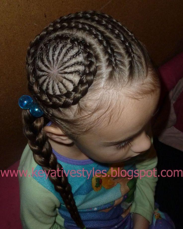 Surprising 1000 Images About Little Girl Hairstyles On Pinterest Cornrows Short Hairstyles For Black Women Fulllsitofus