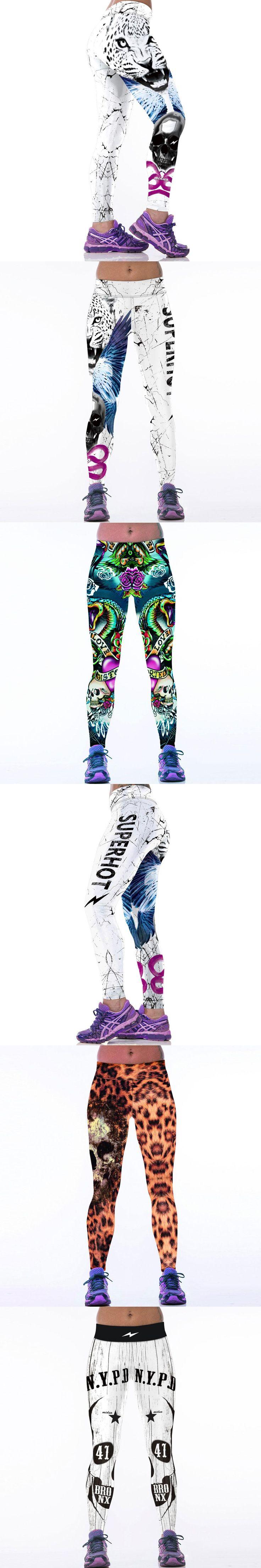 Hot Women Sporting Leggings 3D Printed Fitness Legins Workout Legging Bodybuilding Pants Jeggings Leggins Ropa Deportiva Mujer
