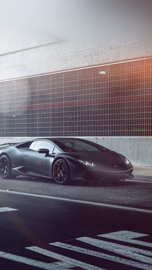 Lamborghini Huracan Vellano Matte Black Car Flare Wallpaper Hd