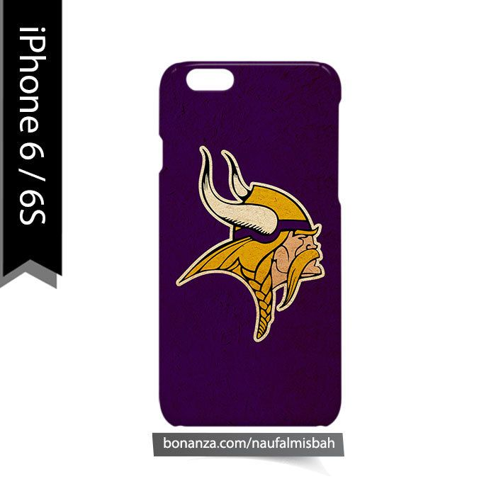 Minnesota Vikings #2 iPhone 6/6s Case Cover Wrap Around