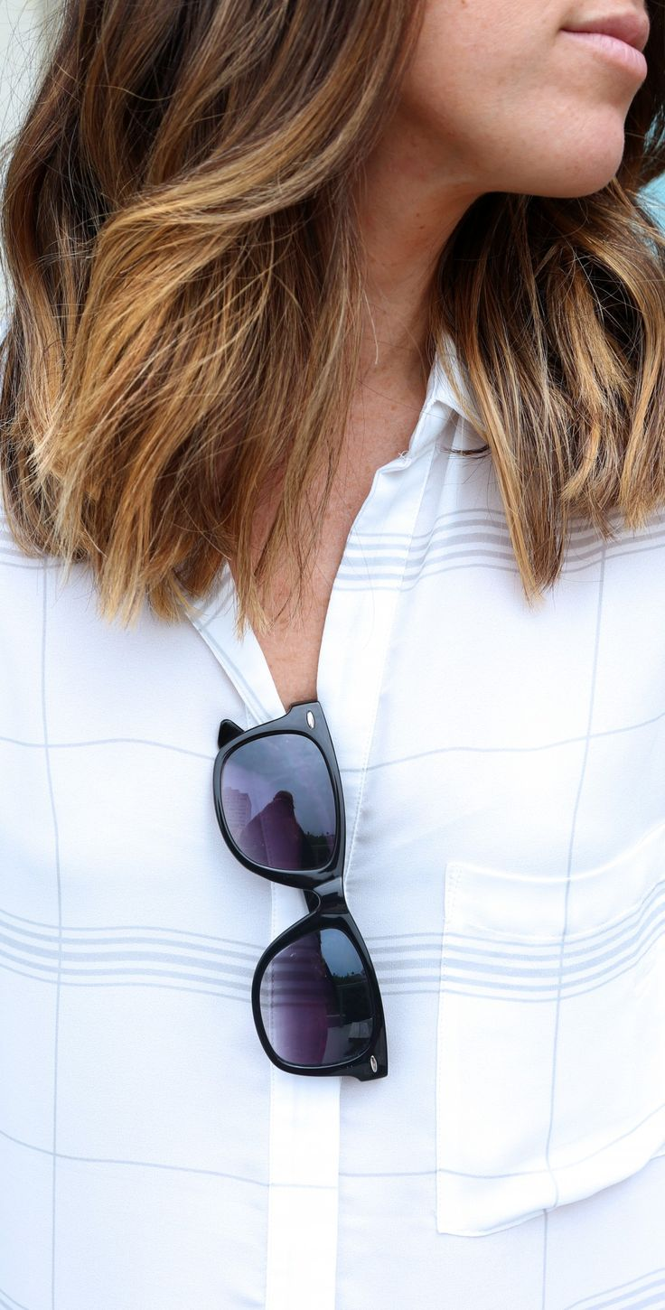 I never leave the house without my wayfarer sunglasses. Watch episodes of @FYI Style Unzipped to discover how this trend got started.