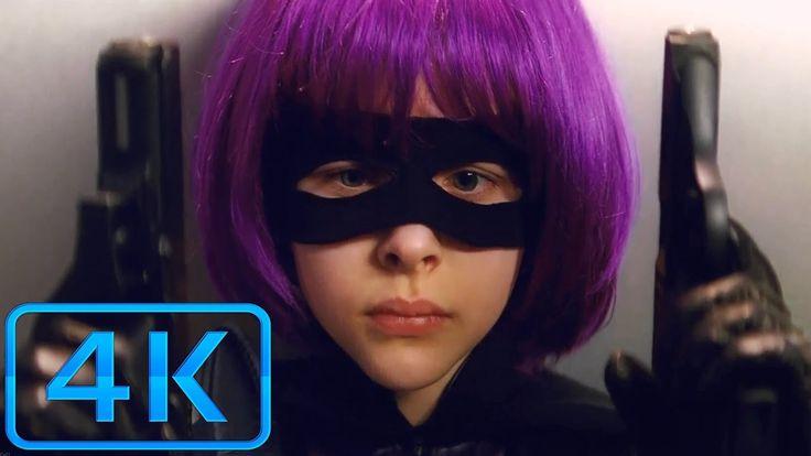 Hit Girl Hallway Shootout Scene - Kick Ass-(2010) Blu-ray 4K ULTRA HD