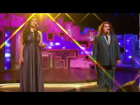 ▶ Jonathan and Charlotte perform 'Perhaps Love' live - YouTube