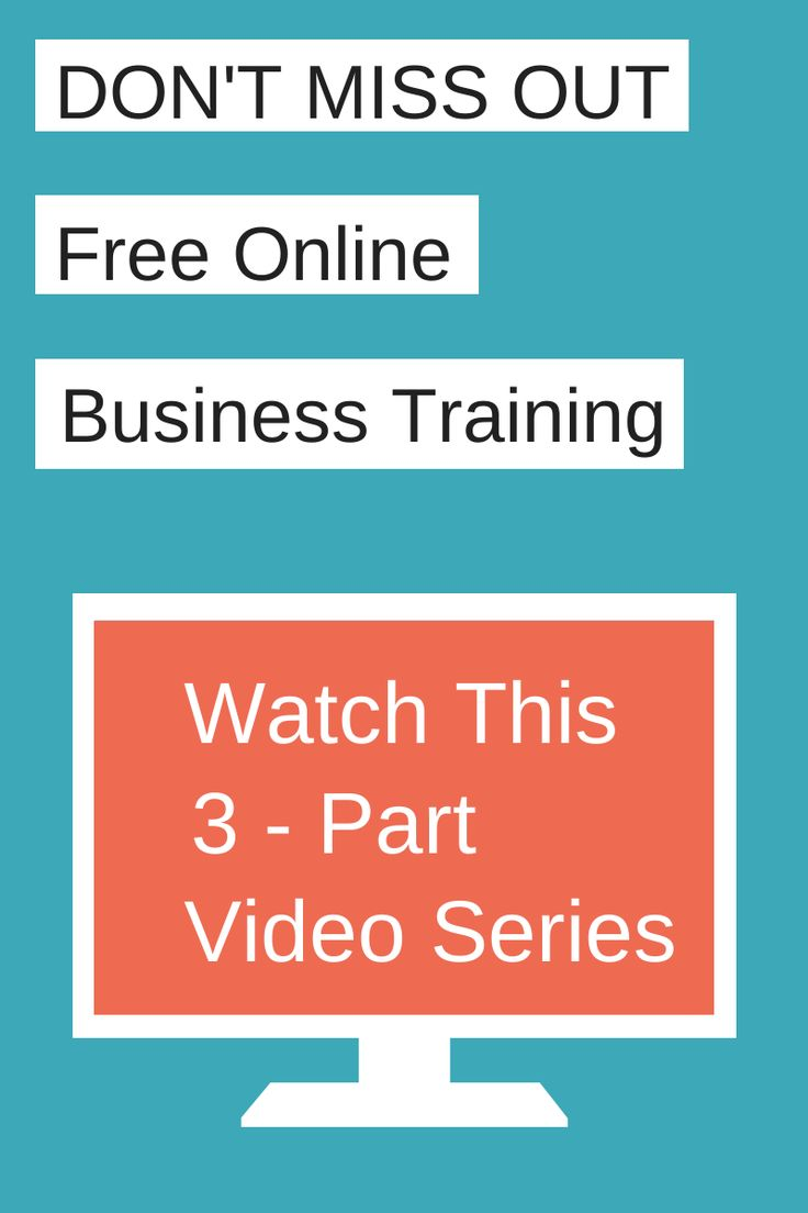Free Video Series  How To Create A Business And Life You Love! This Will