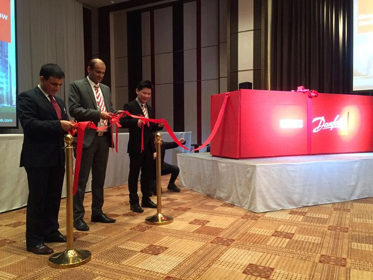 First in #ASEAN, today we successfully launched our Inverter Technologies in Bangkok, Thailand. #DanfossInverter #EngineeringTomorrow #Danfoss #Inaguration