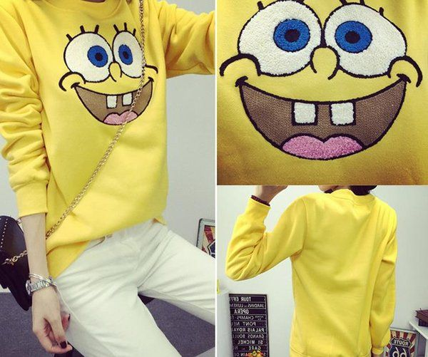 KOREAN SWEATER/AK908 ₱39O.OO Sponge Bob sweater : Free size fits small - medium frame http://besmartshopphcom.mysimplestore.com/products/korean-sweaterak908