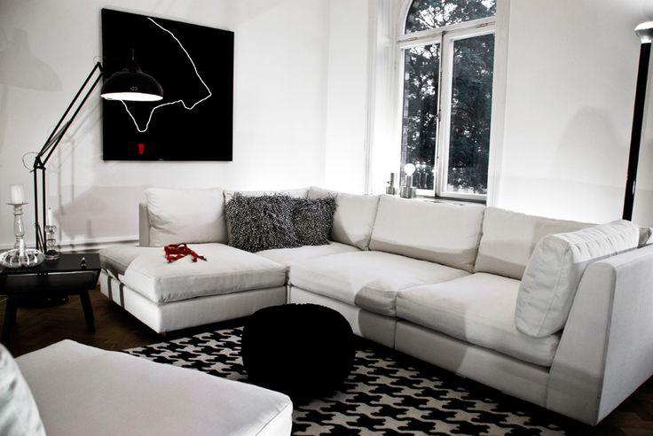 Hörnsoffa Stockholm, inredning från @WELANDER DESIGN interior, sofa, modern design