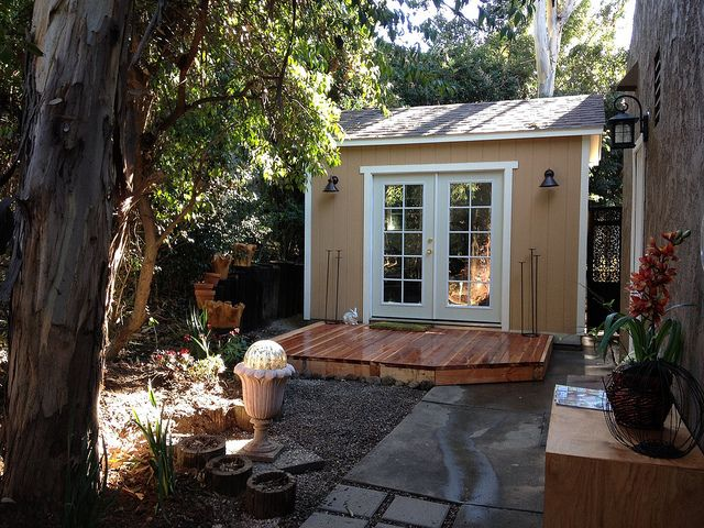 fetching tuff shed greenhouse. Cottage with deck and french doors anaheim  TUFF SHED Flickr 27 best Shed images on Pinterest Backyard cabin
