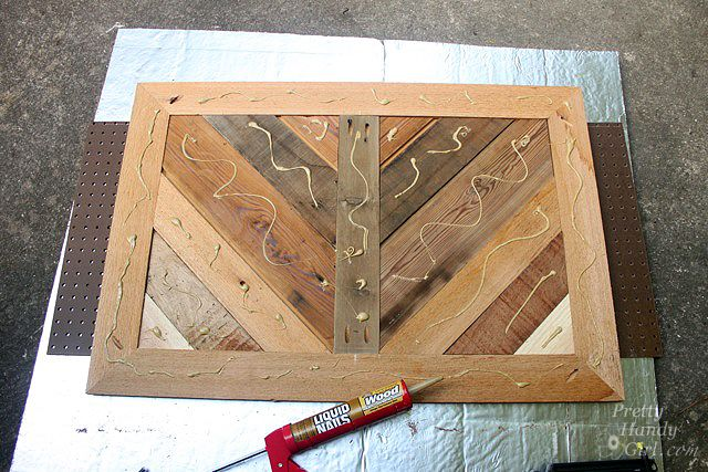 Build a Fireplace Insert Draft Stopper {a Lowe's Creator Idea ... …