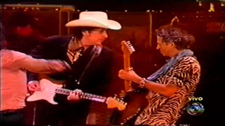 The Rolling Stones & Bob Dylan Like a Rolling Stone live Rio de Janeiro